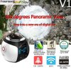 360 Degree Panoramic Sport DV Camera WiFi Action Cam V1