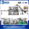 Automatic Soft Drink Bottling Line Glass Bottle Filling Machine
