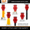 Solar LED Traffic Warning Light with Clamp for Korea Market