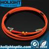 Fiber Patch Cord LC to St Duplex mm Om1 or Om2 Orange