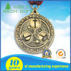 Supply Cheap Metal Sports Medal with Customized 3D Logo Engraving