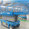 Electric Scissor Lifting Designed Mobile Hydraulic Lift Platform