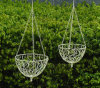 Easy Fill Green Hanging Baskets Planter