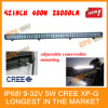 5W CREE XP-G Two Row LED Light Bar, 400W Power, IP68, for ATV/UTV/off Road Car/Mining