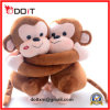 Custom Plush Brown Stuffed Hug Monkey Couple