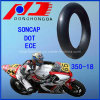 Butyl Rubber for South Africa 350-18 Motorcycle Inner Tube