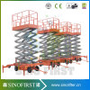 4m 8m Hydraulic Mobile Electric Smart Scissor Lift Platform