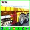 3 Axle 40FT Flatbed Semi Trailer/ Tri-Axle Container Trailer