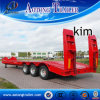 Full Automatic Low Deck Semi Trailer with Hydraulic System