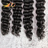 Peruvian Virgin Hair Extension Deep Wave Remy Human Hair Weaving