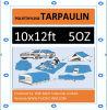 10′ X 12′ Super Heavy Duty HD Silver Tarp 5oz