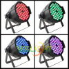 Factory Price LED Disco Light 3W*54PCS RGB Tri LED PAR Light with DMX Wireless