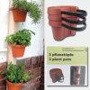 3 Plant Pots, Garden Pots, Flower Pots
