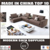 Sweden Modern Design Fabric Corner Sofa Set