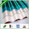 Ten-Year Guarrantee Polycarbonate Hollow Roofing Policarbonato Solid PC Corrugated Sheet