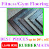 Home Gym Rubber Tile Mat Flooring