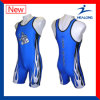 Healong China Cheap Price Apparel Any Sizes Sublimation Men′s Wrestling Singlets