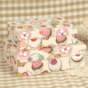 Ice Cream Printed Paper Gift Packing Box