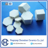 92% Alumina Ceramic Hexagon Tile for Ceramic Rubber Composite