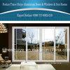Aluminum Doors Profile with Lattice Design for Interior Door