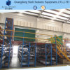 Heavy Weight Multi Tier Platform with Rack Support for Warehouse Storage