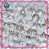 100% Polyester Lace Mesh Fabric for Fashion Clothing