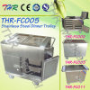Thr-FC005 Medical Stainless Steel Hospital Electric Food Trolly