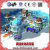 Frozen Snow Theme Naughty Castle Kids Indoor Playground Equipment