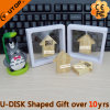 Folding Cabin Wood USB Promotion Gifts (YT-8134)