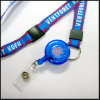 Retractable Woven/Jacquard/Braided Logo Custom Lanyard for Events