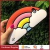 Eco Friendly Rainbow Pattern Silicone Phone Case