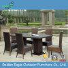 Waterproof Garden Cushion Rattan Furniture Dining Set