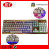 Customized Logo Corlorful Metal Plate USB Wired Computer PC Keyboard