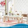 Glass Rectangle Dining Table Set with Low Price