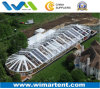 15X45m Octagonal Party Wedding Tent with Transparent Roof and Sidewalls