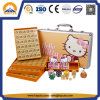 Hot Sale Orange & Pink Hello Kitty Mahjong Box (HT-3030)