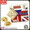 Factory Custom Made Enamel Russia Logo Pins