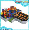Luxury Modern Children Two Seat Toys Indoor Trampoline for Baby