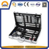 Aluminum Accessories Case for Stainless Steel BBQ Tool Set (HT-3003)