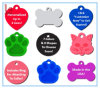 Fashion Pet ID Tag Dog and Cat Personalized