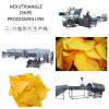 Hexagon Potato and Triangle Corn Chips Making Machine