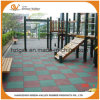Outdoor Anti-Slip Safety Rubber Floor Tile Rubber Mat for School