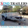 Hydraulic Tipping Trailers-Fully Welded