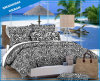 Leopard Print Cotton Polyester Bedsheet (set)