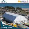 Polygon Roof Durable Structure 20mx40m White Canvas Outdoor Sports Tent