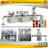 Linear Type Small Carbonated Beverage Filling Line