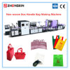 Non Woven Box Handle Bag Making Machine with High Speed Zxl-E700