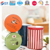 Round Shaped Metal Food Container for Coffee Tea Packaging