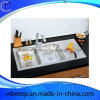 Export Southeast Asia Stainless Steel Kitchen Sink with Drainboard