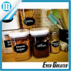 Black Labels Waterproof Stickers for Jars Boxes Personalizing Anything